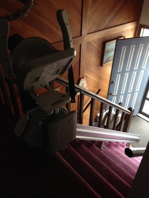 Barb Maurer HBF Stairlift After 1